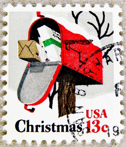 Stamp clipart christmas mail. Best a postal