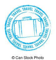 stamp clipart free travel