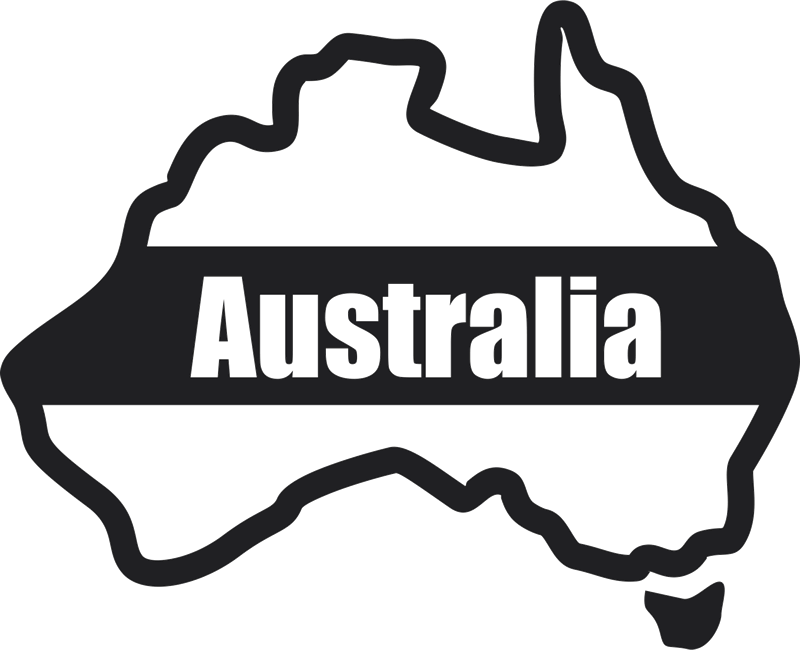 Australia outline rubber stamps. Stamp clipart ink stamp vector download