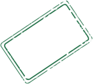 vector rectangle stamp
