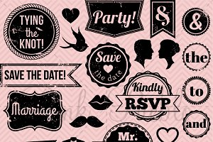 Icons and vectors creative. Stamp clipart wedding clip art freeuse library