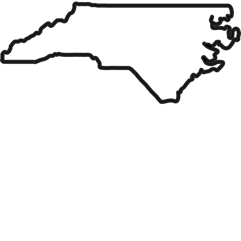 nc outline png