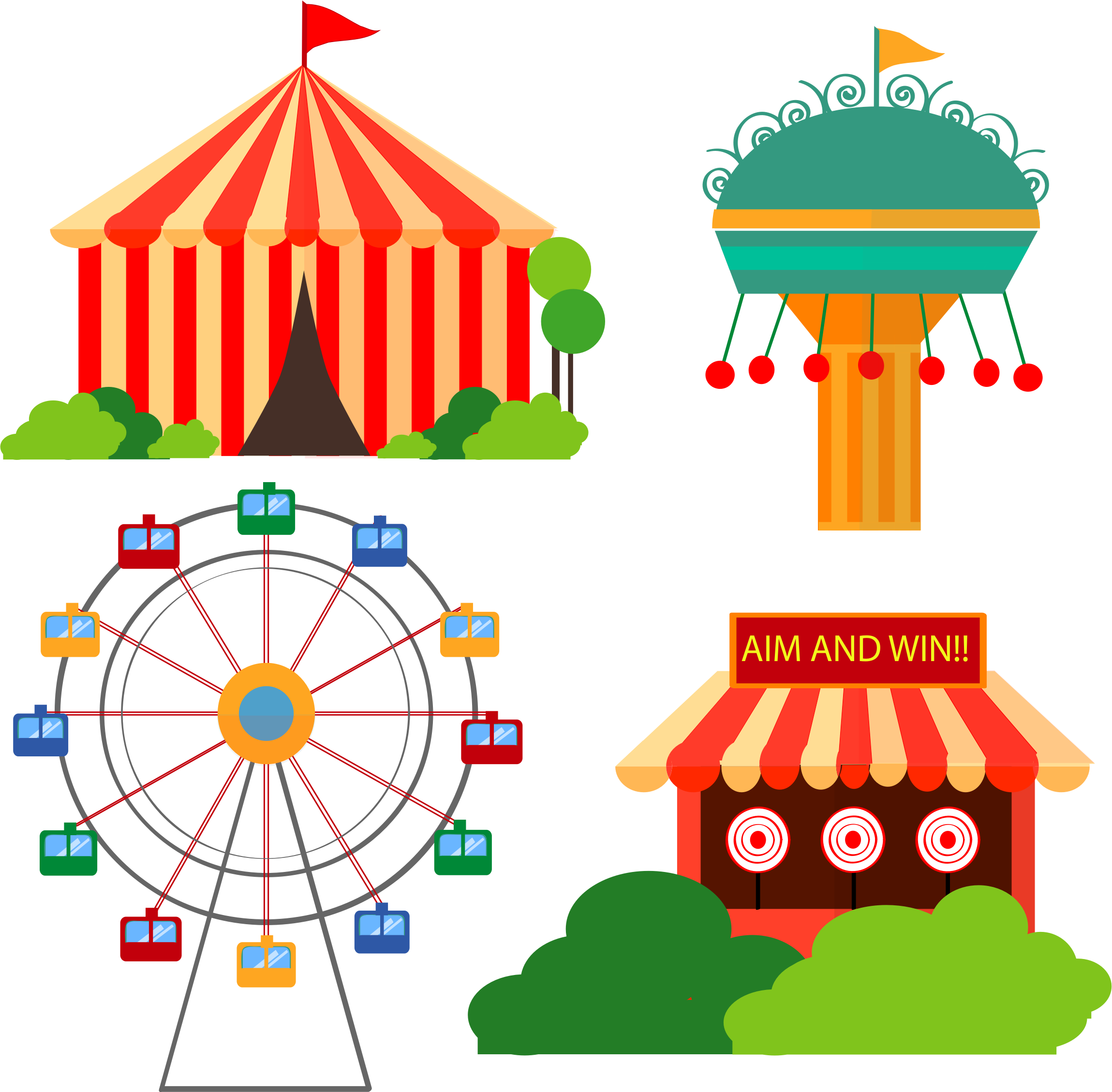 cliparts for free. Zoo clipart scenery banner library library