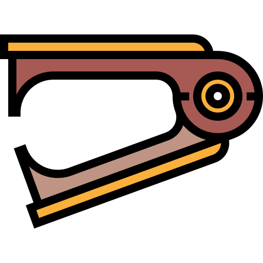 Stapler drawing construction. Remover and tools png