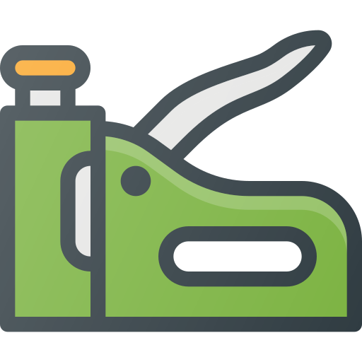 Stapler drawing construction. Industry tool tools icon