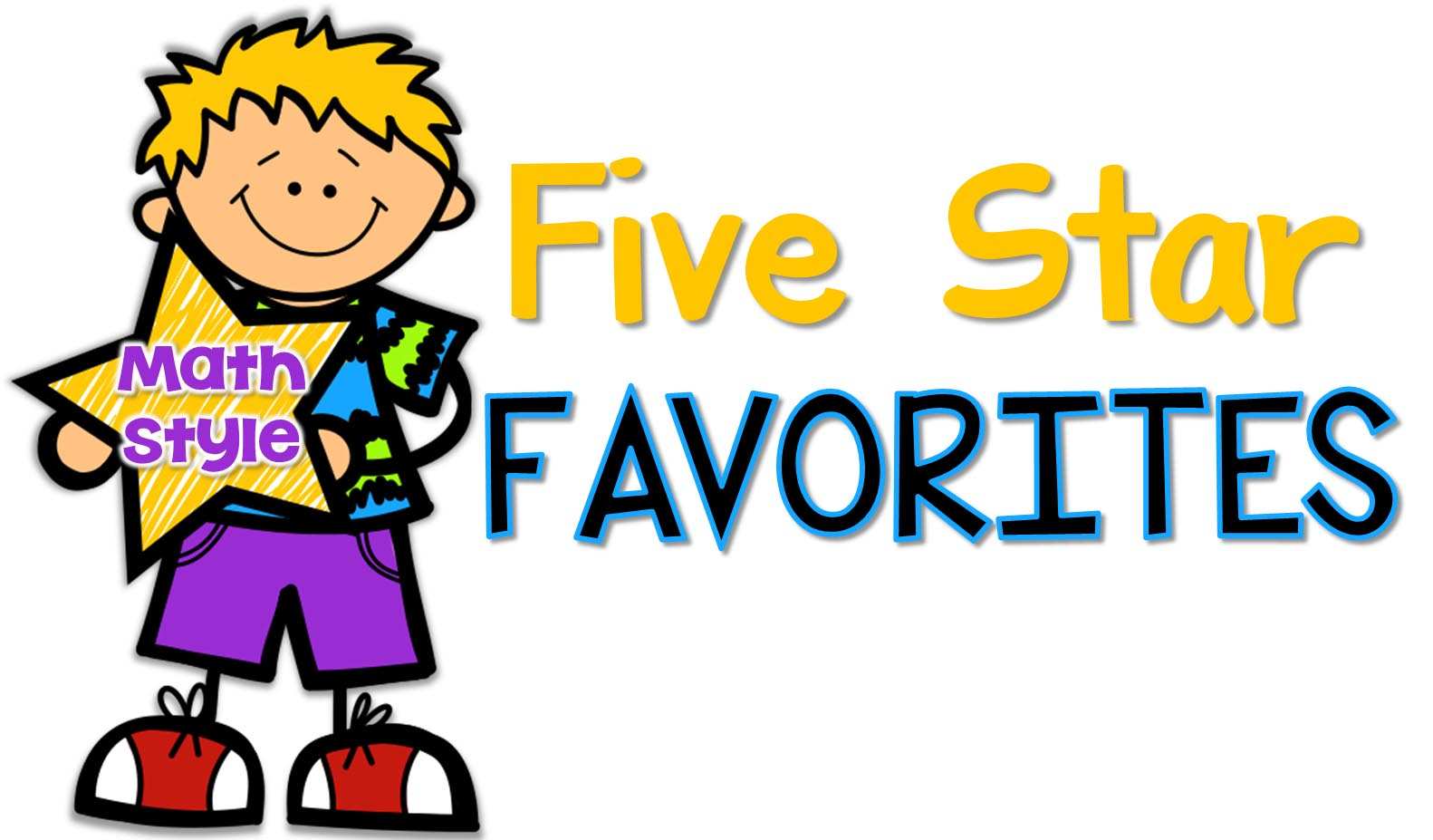 Star clipart math. Five apps second grade