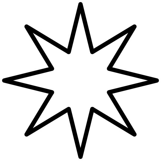Star clipart math. Eight point pictures images