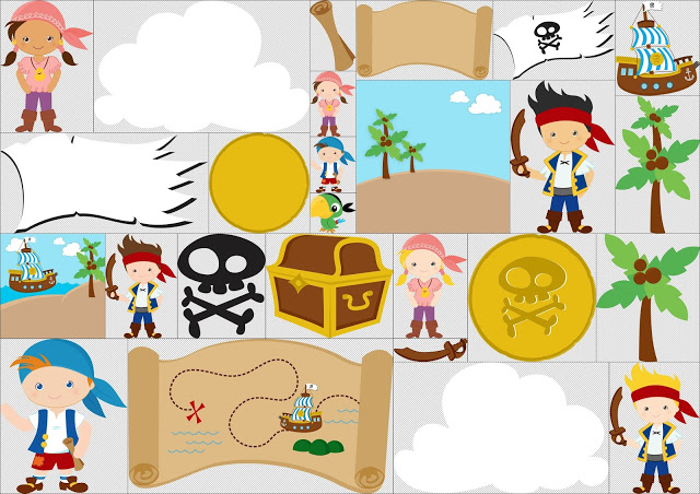 Star clipart neverland. Jake and the pirates