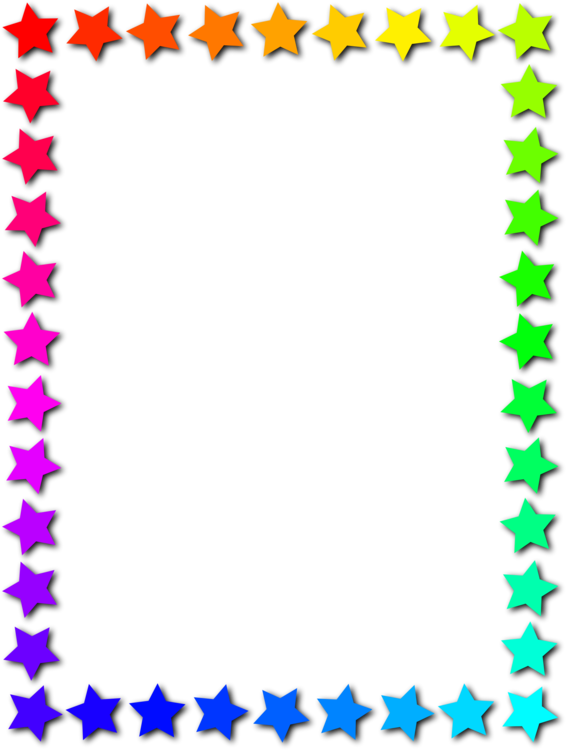 Borders clipart star. And frames picture computer