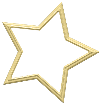 Star clipart picture frame. Transparent decoration gallery yopriceville