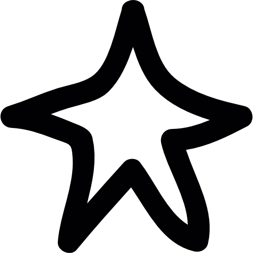Star doodle png. Free shapes icons icon