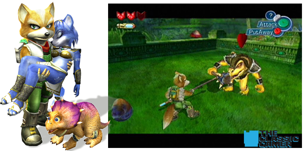 Star fox adventures logo png. Review the classic gamer