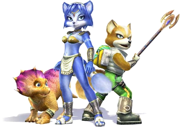 star fox adventures logo png