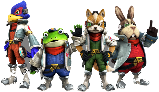 Star fox zero png. The player loses control