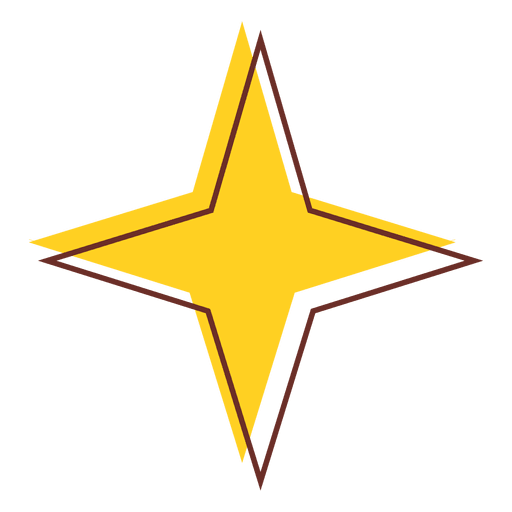 Star icon png. Sharp transparent svg vector