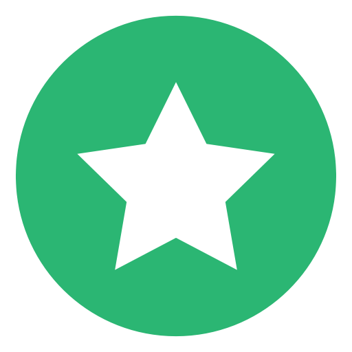 Green star png