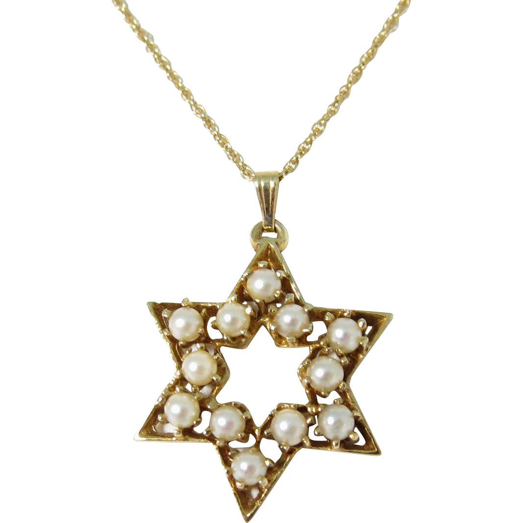 jewish necklace png
