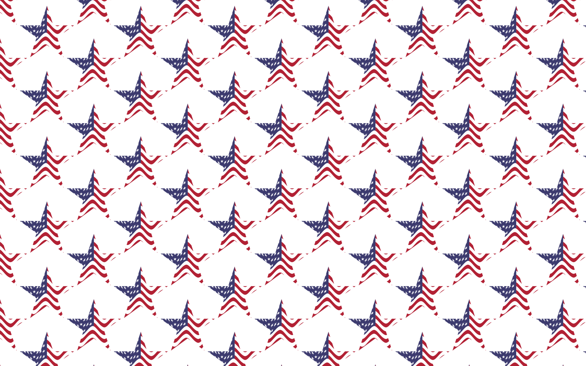Star pattern png. Seamless usa flag icons
