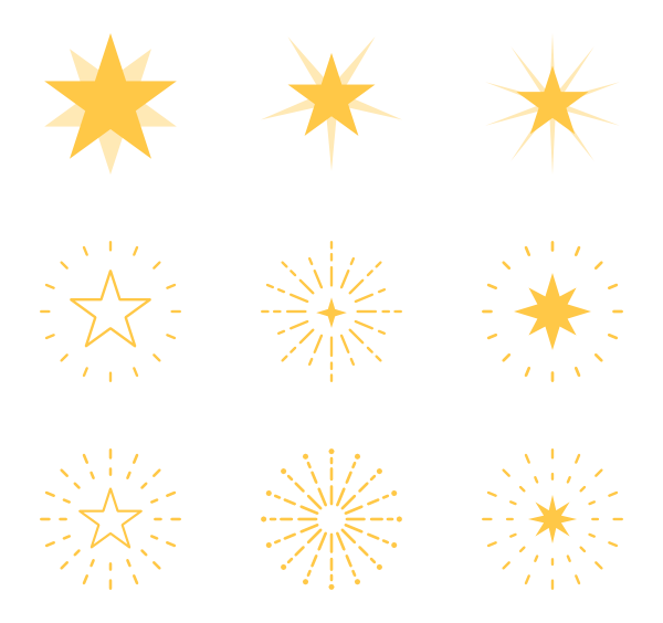 Star sprite png. Icon packs vector