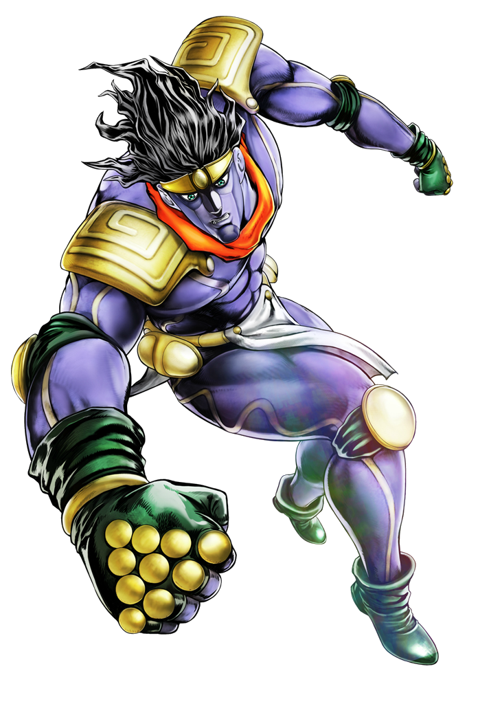 Star platinum hair png. Jotaro kujo eyes of