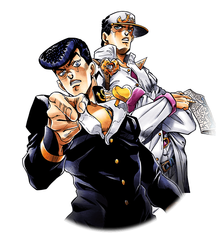 Star platinum png. Ssr josuke higashikata and