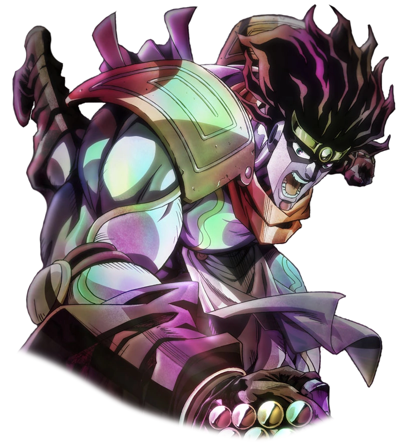 Star platinum png. Image character stats and
