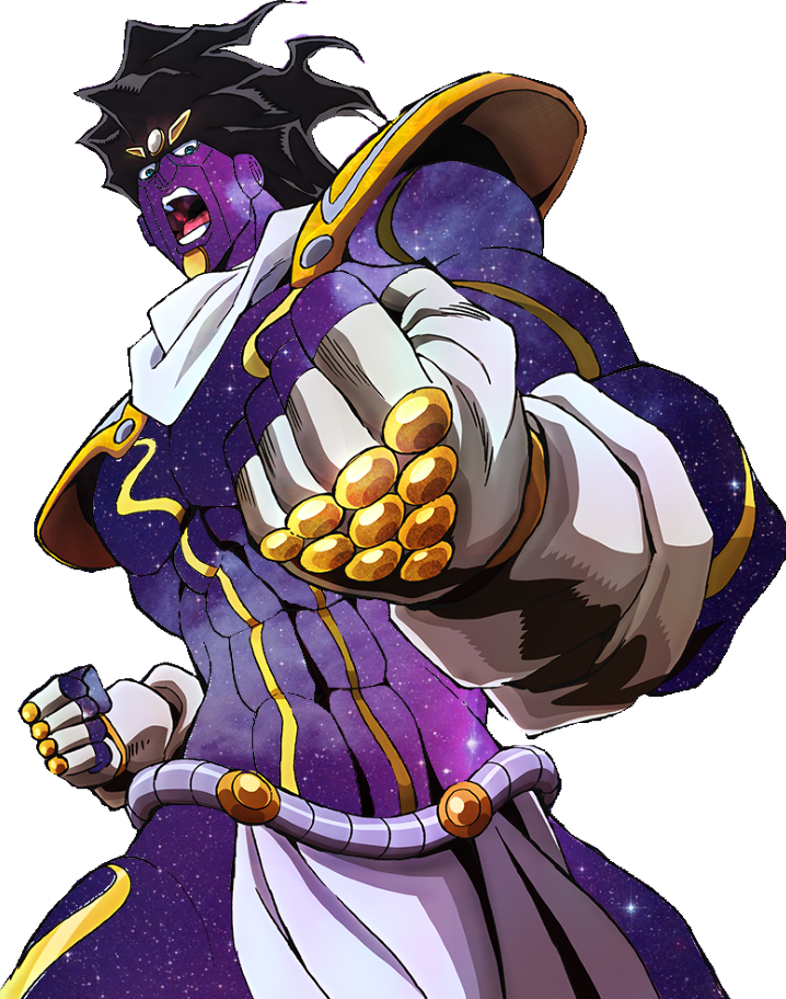 Star platinum hair png. Fanart edit i made