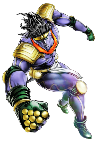 Star platinum png. Image so cool character