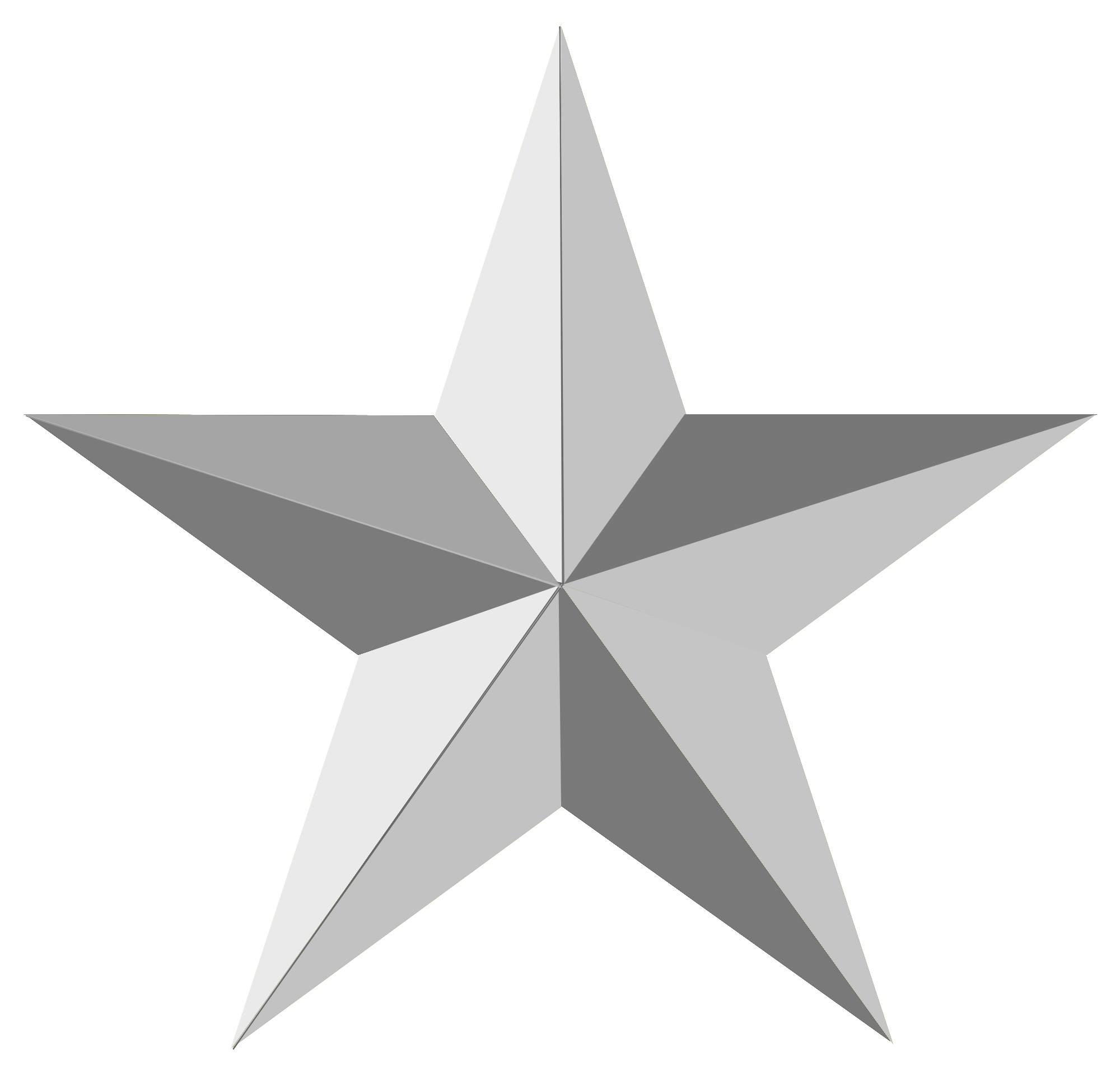 White star png. Transparent images all