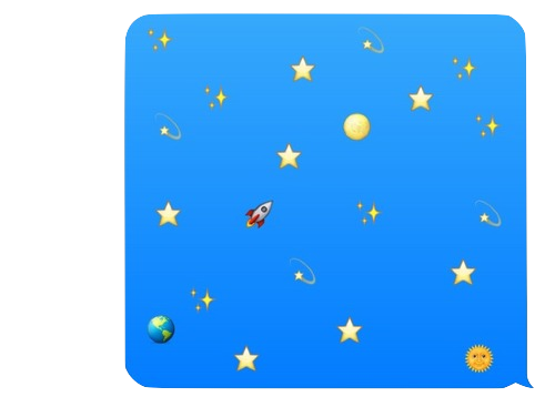 Star png space. K text my