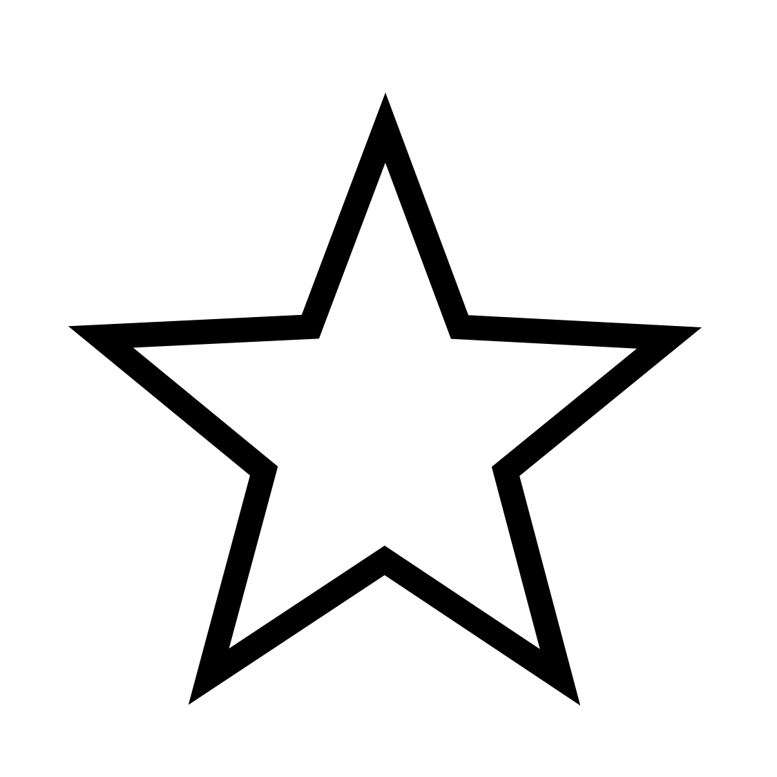 Star Images Png Black And White