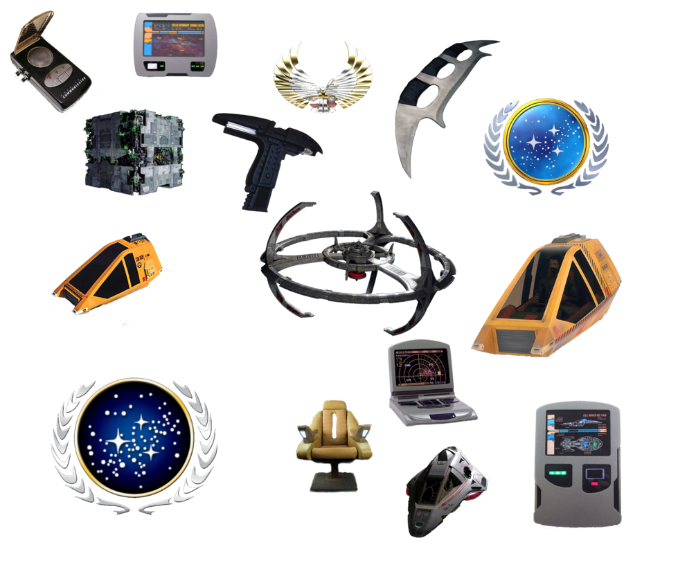 Star trek png icons. Ii by darthvader on