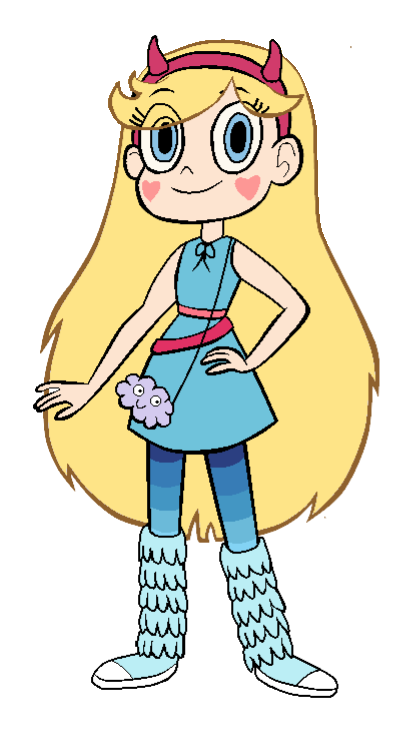 Star vs the forces of evil png. Image sky blue dress