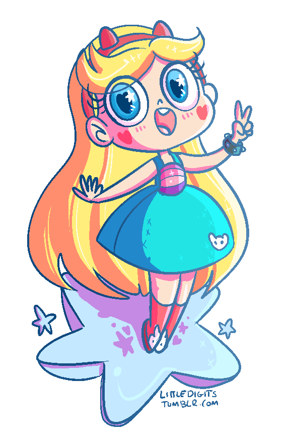 Star vs the forces of evil star png. Chibi know your meme