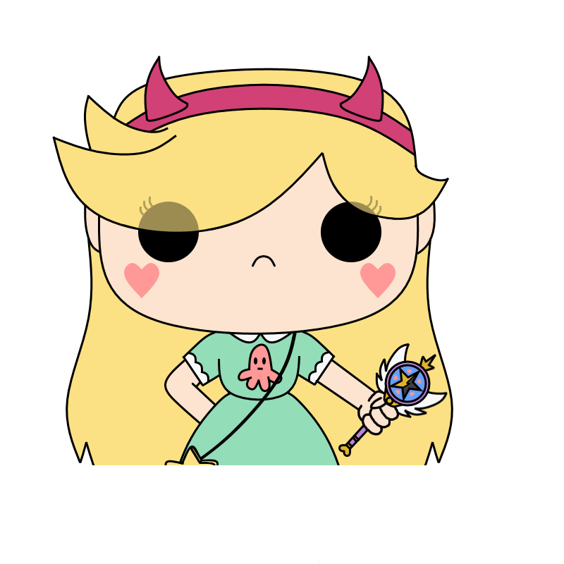 Star vs the forces of evil star png. Pop vinyl by undi