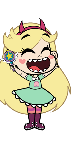 Star vs the forces of evil star png. Image creature capture excited