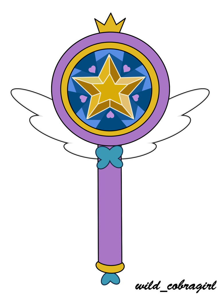 Star vs the forces of evil wand png. Butterfly s magic by