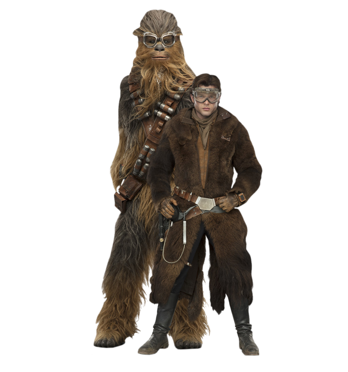 Star wars chewbacca png. Han and chewie solo