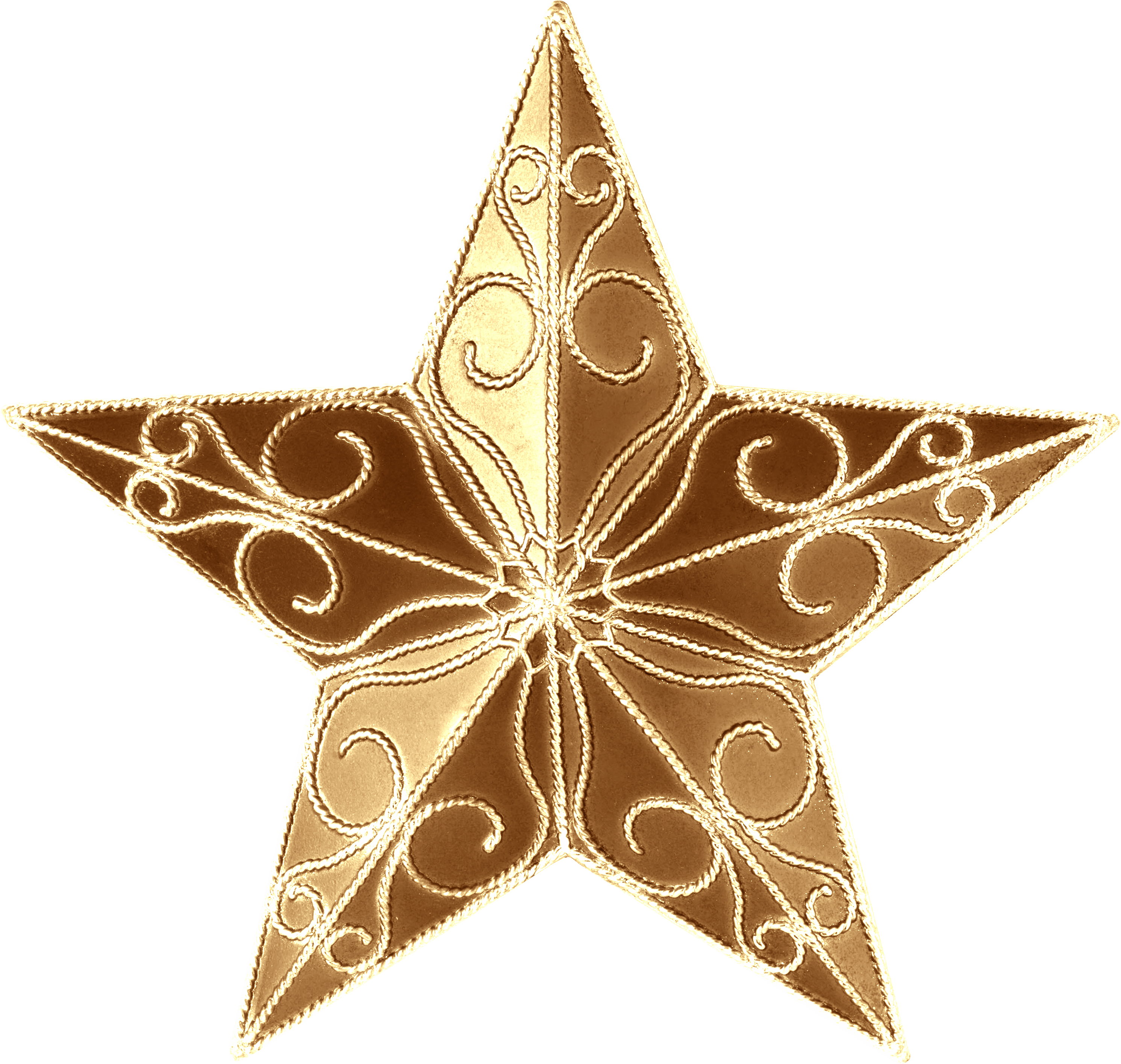 Holiday stars png. Christmas tree ornament topper
