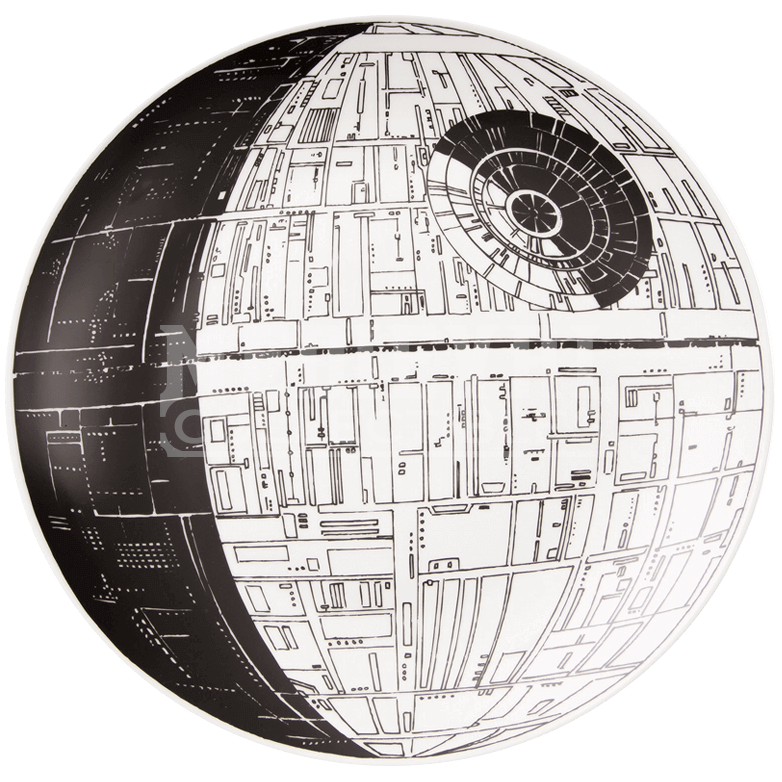 Star wars death star png. Serving platter vp by