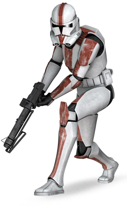 Star wars female rotarty cannon png. Image flade clone fannon