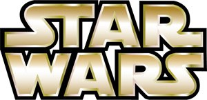 Jedi vector battle. Star wars logo eps