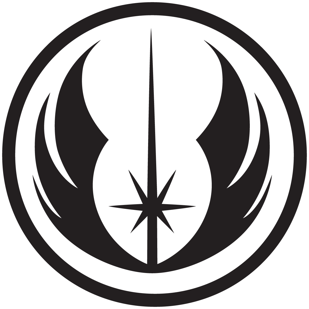 Star wars logos and symbols png transparent. Image jedi canon extended