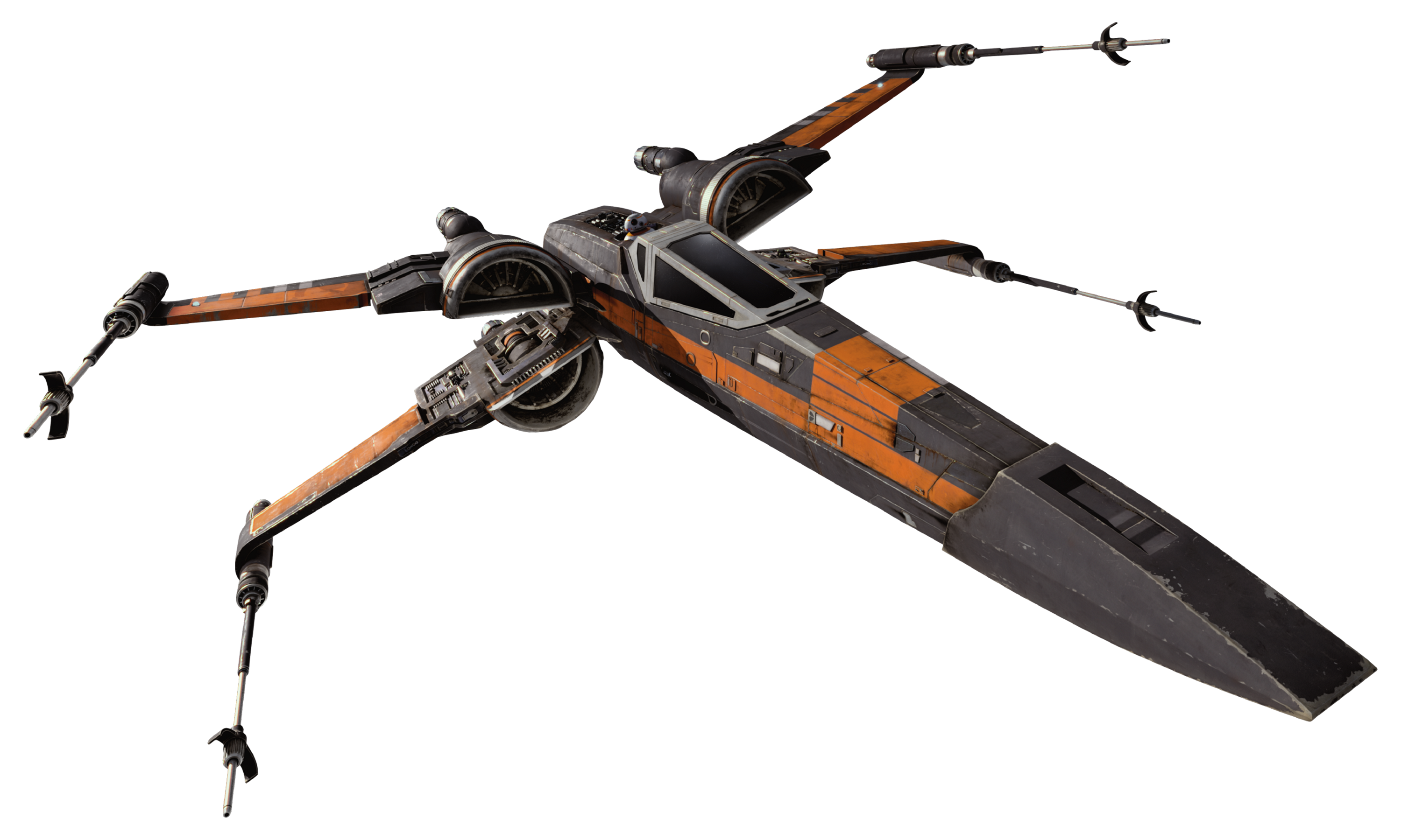 Star wars ship png. T x wing fighter