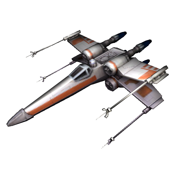 X wing fighter png. File starfighter star wars