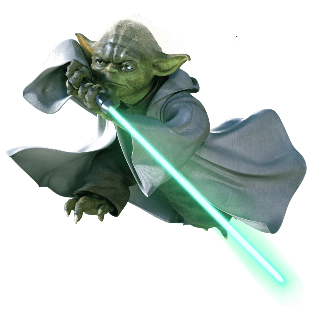 Yoda png. Flying transparent stickpng at