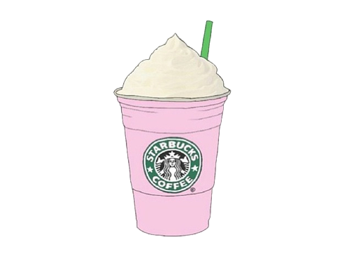 Chanel drawing starbucks. Tumblr transparent cup for