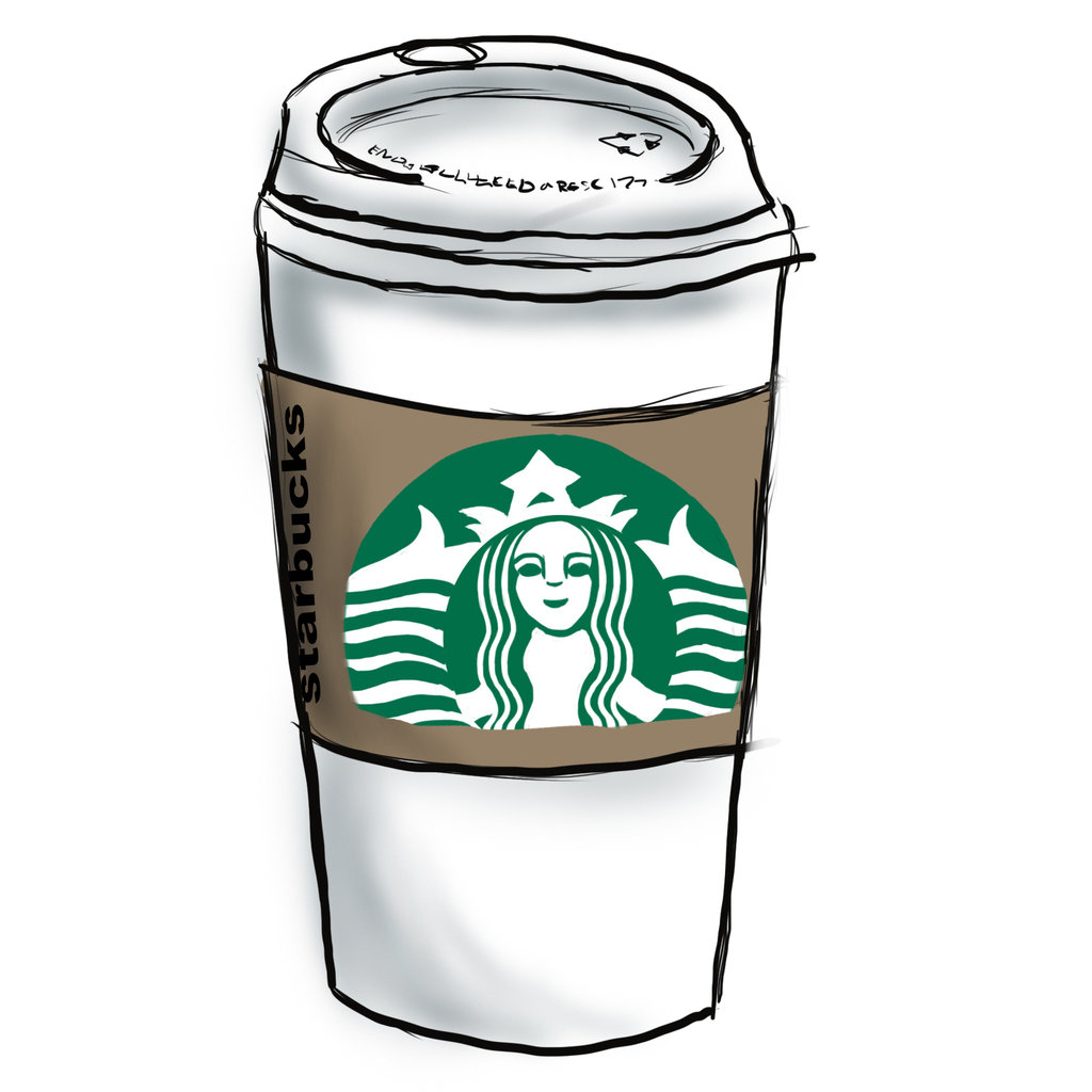 Starbucks clipart cup. Drawing cartoon kid about