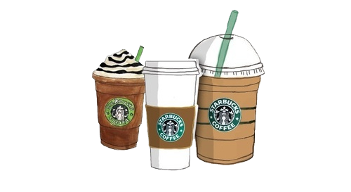 Drawing coffee iced. Png s starbucks by