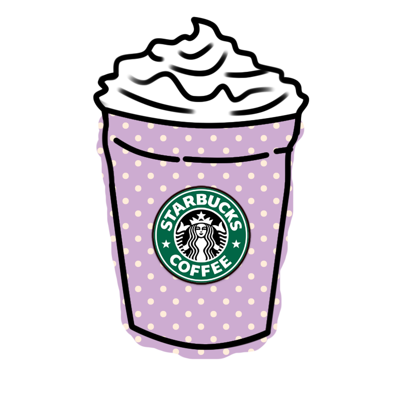 Deviantart more like starbucks. Tumblr overlays png dibujos png download